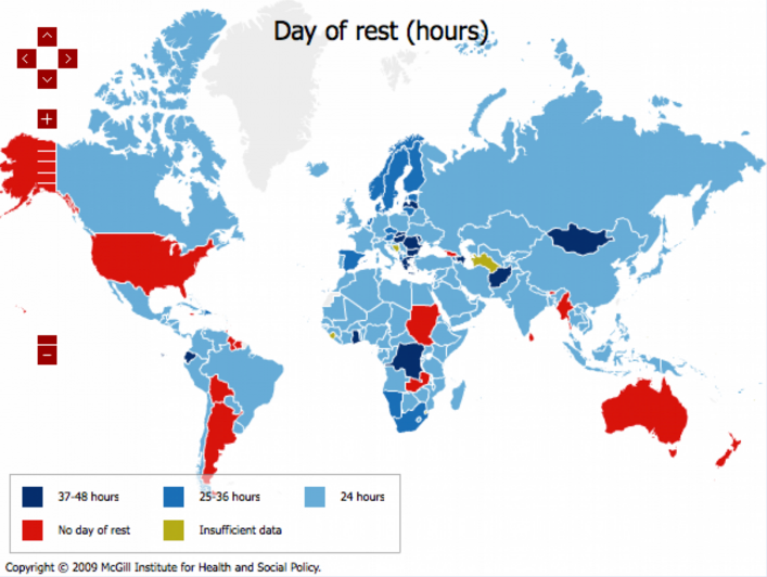 Global paid time off