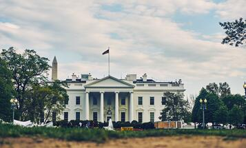 White House from ground level