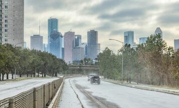Houston Texas February 2021 Winter Storm