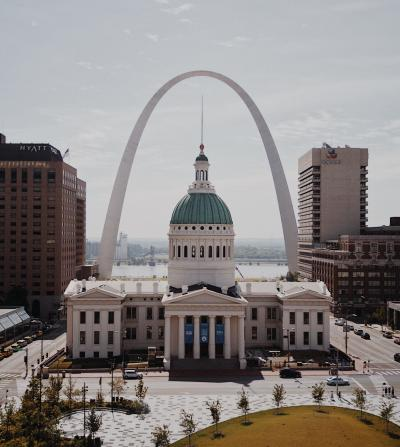 St. Louis Downtown and Arch