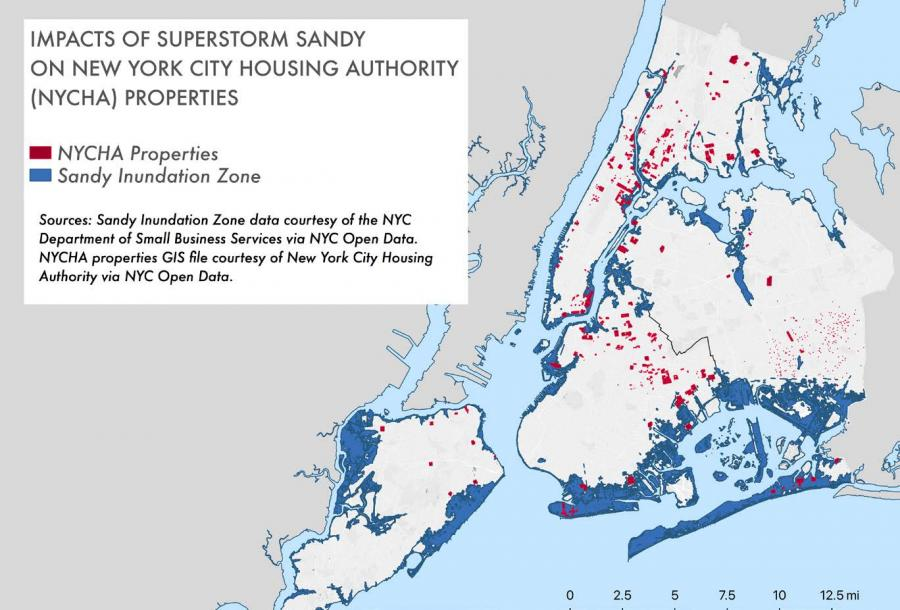 Impacts of Superstorm Sandy on New York City Housing Authority (NYCHA) Properites