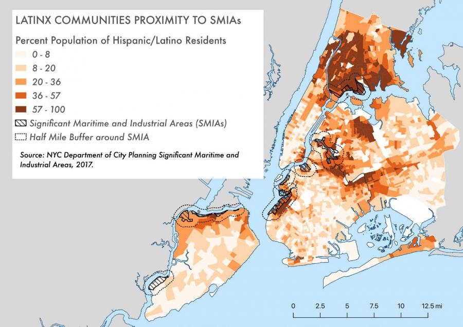 Latinx Communities Proximity to SMIAs
