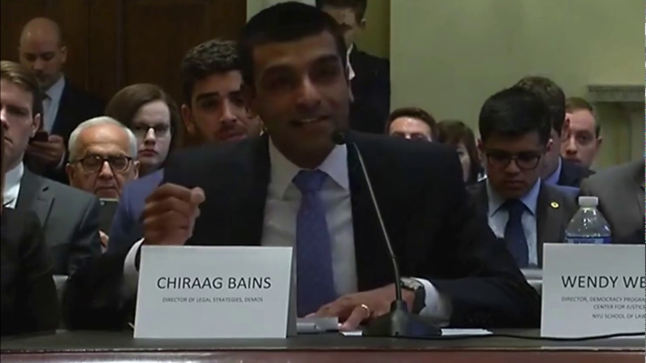 Mpa Testifies For Rate Increase To >> Written Testimony Of Chiraag Bains To The House On H R 1 The For